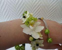 Les Bouquets d'Elise – Fretin - bracelet fleurs mariage