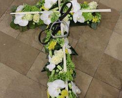 Les Bouquets d'Elise – Fretin - croix de deuil