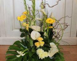 Les Bouquets d'Elise – lesquin - devant de tombe