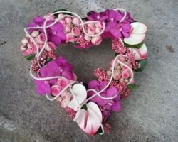 Les Bouquets d'Elise – Fretin - Les coeurs de deuils